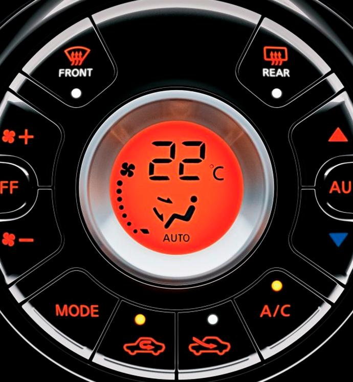 Ar condicionado digital automático