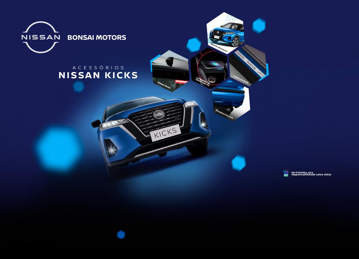 Acessórios Nissan Kicks