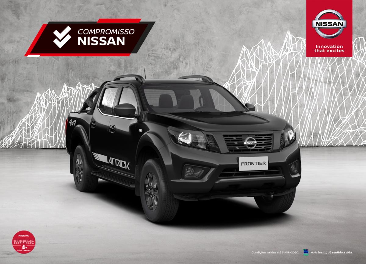 Nissan Frontier Attack 2021
