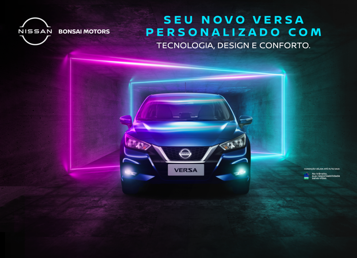 Acessórios Nissan Versa